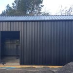 ALL BLACK CLADDING AND FLASHINGS