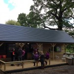 SLATE EFFECT ON BUILDING IN LOUGH KEY FOREST PARK