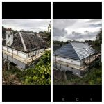 BEFORE AND AFTER ON A HOUSE IN BRAY
