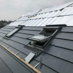 VELUX WINDOW IN SLATE EFFECT ROOF