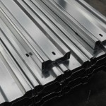 STACK OF PURLINS