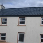 SLATE GREY TILE EFFECT ON BUILDING IN BALLYFARNON